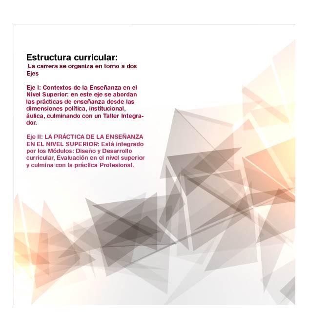 Estructura Curricular Facultad De Educación